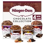 Haagen Dazs Chocolate Ice Cream Collection Minicups