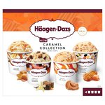 Haagen Dazs Caramel Ice Cream Collection Minicups