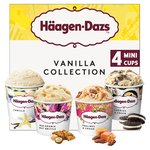 Haagen Dazs Vanilla Ice Cream Collection Minicups