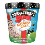 Ben & Jerry's Birthday Cake Ice Cream 465ml