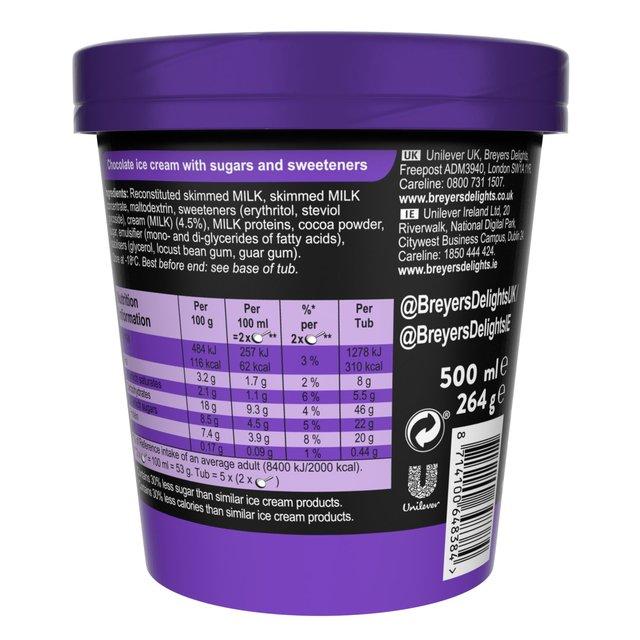 Breyers Delights Creamy Chocolate Ice
