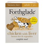 Forthglade Complete Adult Chicken with Liver & Brown Rice & Veg