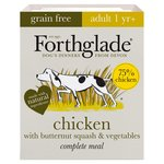 Forthglade Complete Adult Chicken with Butternut Squash & Veg GRAIN FREE