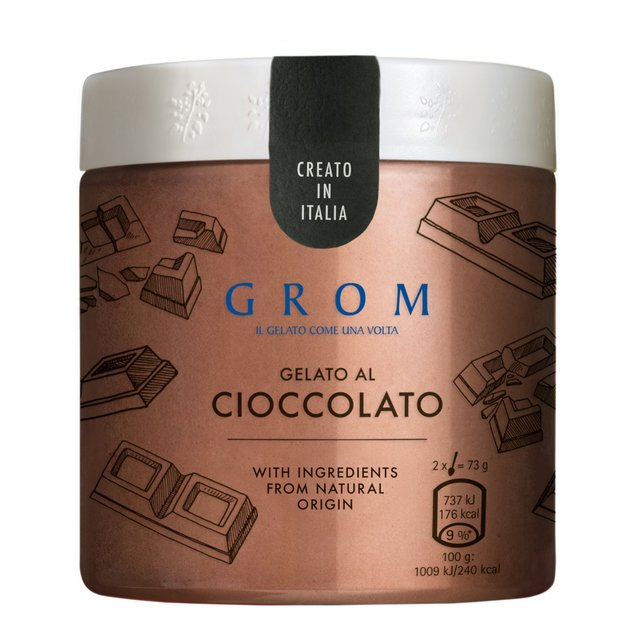 Grom Chocolate Gelato Ice Cream