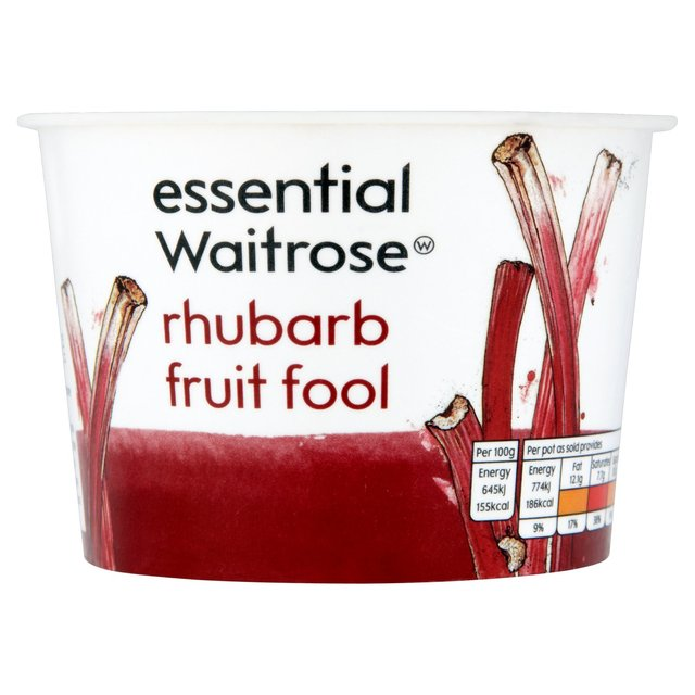 Rhubarb Fruit Fool Waitrose