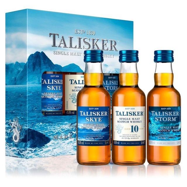 Talisker Single Malt Scotch Whisky Gift Set ...