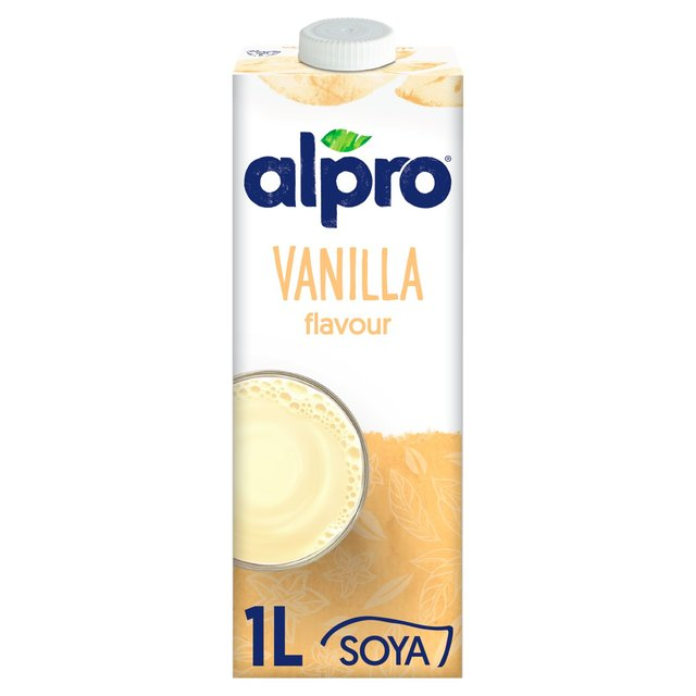 Offer - Alpro Longlife Soya Vanilla Milk Alternative 1L
