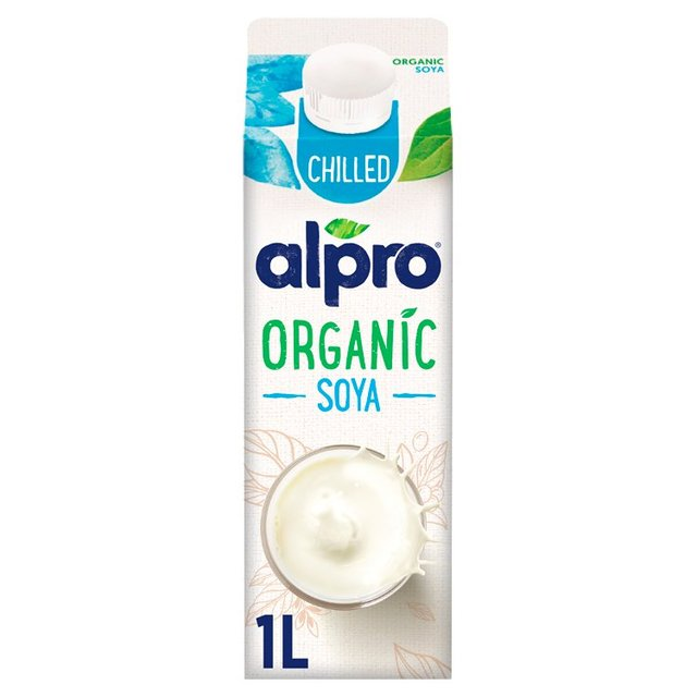 Alpro Fresh Organic Soya Milk Alternative