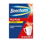 Beechams Flu Plus with Hot Lemon