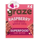 Graze Raspberry Flapjack with Super Chia