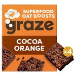 Graze Cocoa & Orange Flapjack with Quinoa & Super Cacao Nibs