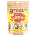 Graze Strawberry Boost with Flax