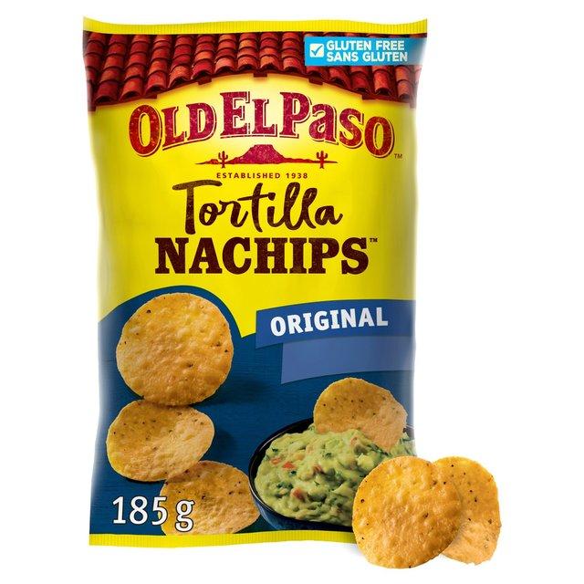 Old El Paso Nachips Tortilla Chips 185g From Ocado