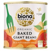 Biona Organic Giant Baked Beans