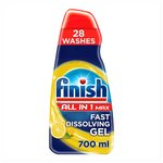 Finish All in 1 Max Dishwasher Detergent & Degreaser Gel Lemon Scent