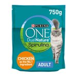 Purina One Dual Nature Adult Cat Food Chicken