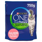 Purina One Dual Nature Adult Cat Food Salmon