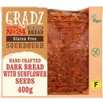 Gradz Bakery Gluten Free Dark Bread with Sunflower Seeds