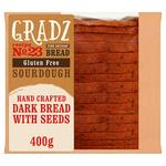 Gradz Bakery Gluten Free Dark Bread with Seeds