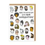 Ohh Deer Another Year With Hair Card