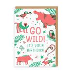 Ohh Deer Jungle Birthday Card