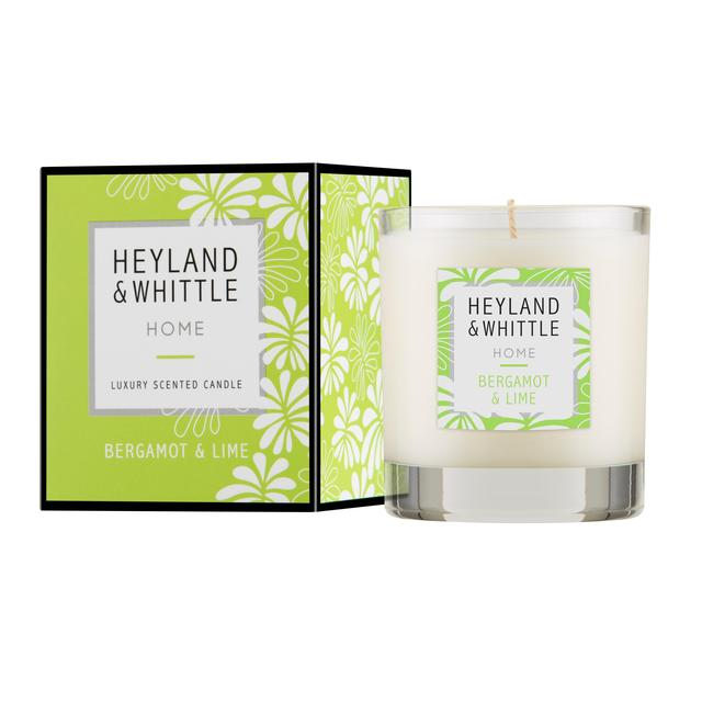 Heyland & Whittle Bergamot & Lime Glass Candle