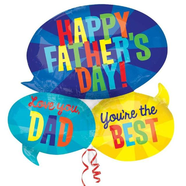 Speech Bubble Father's Day Balloon