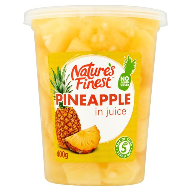 b2777b0f5 Nature's Finest Pineapple Chunks in Juice 400g from Ocado