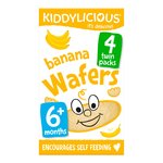 Kiddylicious Mini Banana Wafers