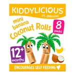 Kiddylicious Mini Banana Coconut Rolls