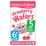 Kiddylicious Mini Strawberry Wafers