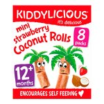 Kiddylicious Mini Strawberry Coconut Rolls