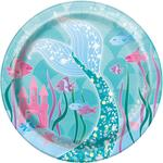 "Unique Party Mermaid 7"" Plate"