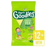 Organix Goodies Cheesy Pea Snaps Multipack