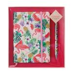 Aroma Home Flamingo B6 Notebook & Pen