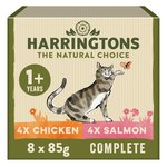 Harrington's Wet Cat Mixed Cases of Salmon and Chicken