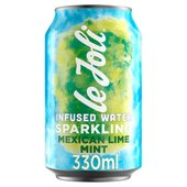 Le Joli Mexican Lime & Mint Infused Sparkling Water
