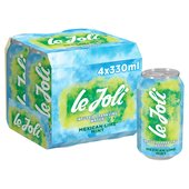 Le Joli Mexican Lime & Mint Sparkling Water