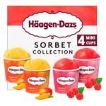Haagen Dazs Sorbet Ice Cream Collection Minicups