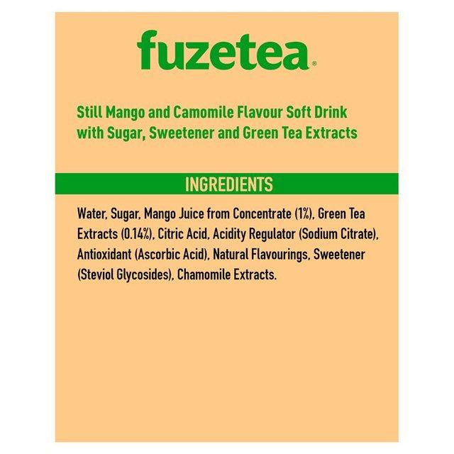 Fuze Tea Mango & Chamomile   Ocado