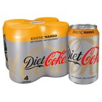 Diet Coke Exotic Mango
