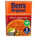 Uncle Bens Microwave Rice Spicy Mexican