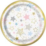 "Unique Party Twinkle Twinkle Little Star 7"" Plates"