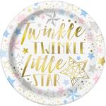 "Unique Party Twinkle Twinkle Little Star 9"" Plates"