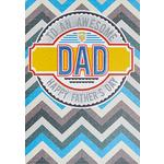 Laura Darrington To an Awesome Dad Father's Day Card