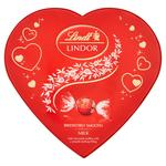 Lindt lindor heart chocolate box