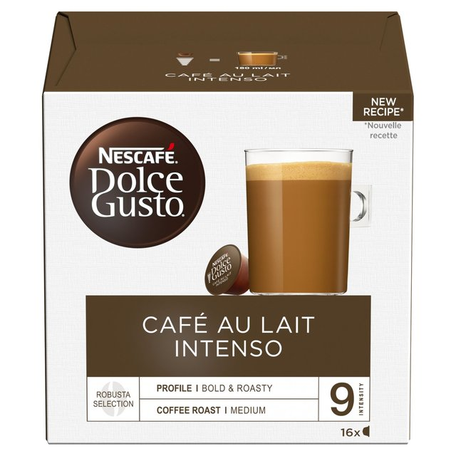 Nescafe Dolce Gusto Cafe Au Lait Intenso Pods 16 per pack ...