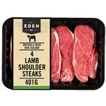 Eden 4 Lamb Shoulder Steaks