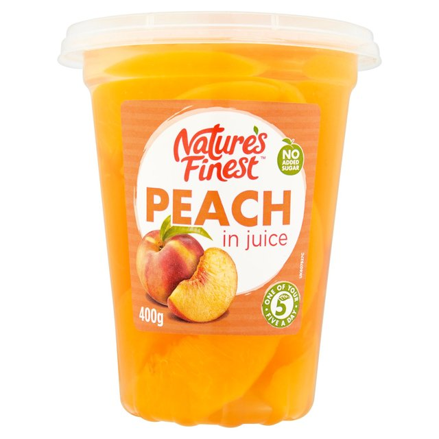 Nature's Finest Peach Slices in Juice