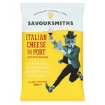 SAVOURSMITHS Italian Cheese & Port Luxury English Potato Crisps